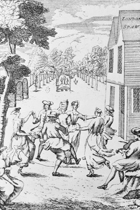 May Day at the London Spa: 1720