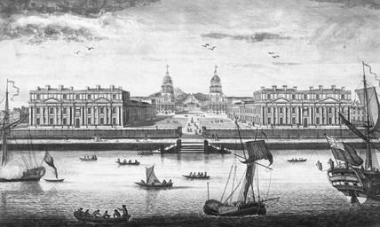 Royal Hospital, Greenwich: 18th century