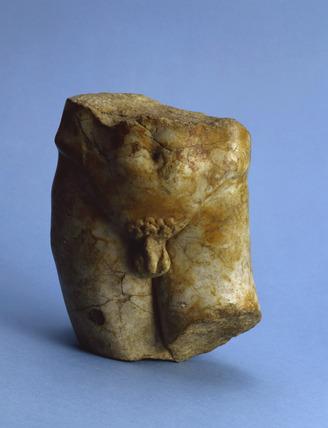 Roman marble torso
