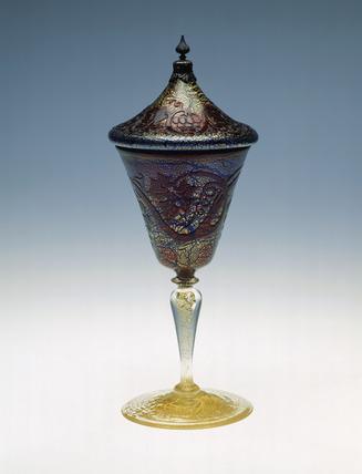 Lidded goblet: 1912