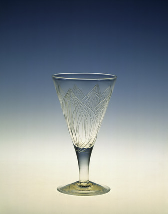 Wine glass: 20th century