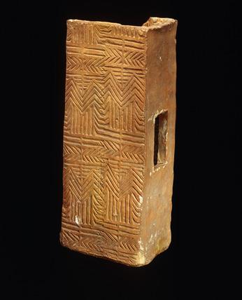 Roman rectangular flue tile