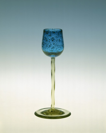 Whitefriars Liqueur or wine glass: 19th century
