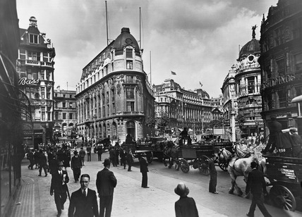 Wellington Street & Aldwych West: 20th century