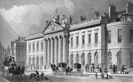 East India House, Leadenhall Street: 1829