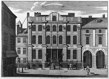 18Th Century House the house of thomas archer esq in covent garden: 18th century