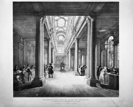 Dividend Pay Office, Bank of England: 1836