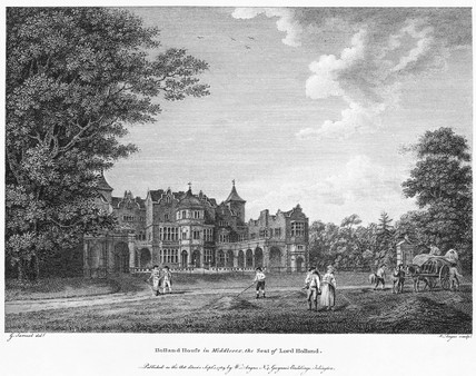 Holland House in Middlesex: 1789
