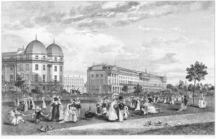 Hanover Terrace, Regents Park: 1827