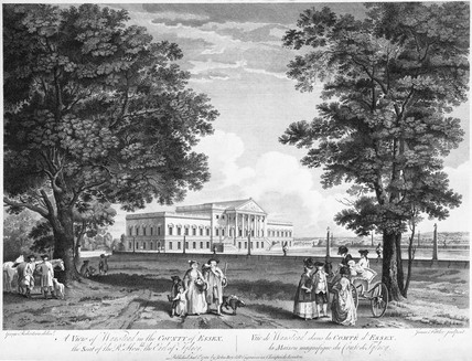 A View of Wanstead in the County of Essex, the Seat of  the Rt. Honble. the Earl of Tylney: 1781