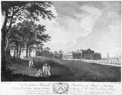 Wanstead House in Essex, the seat of the Rt Honble. the Earl of Tilney: 1775