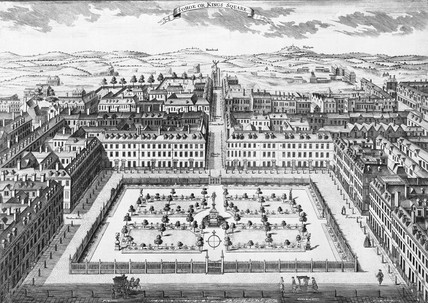 Sohoe or Kings Square: 18th century