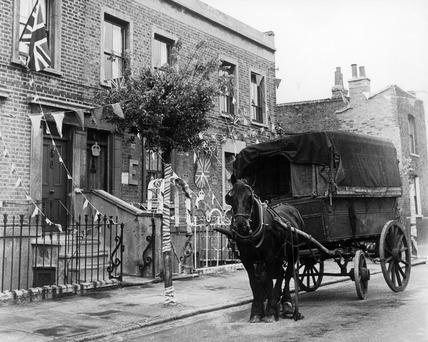 Bethnal Green near Chisenhale Road: 20th century