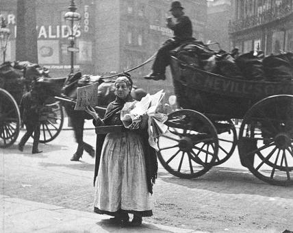 Magazine seller: 1893