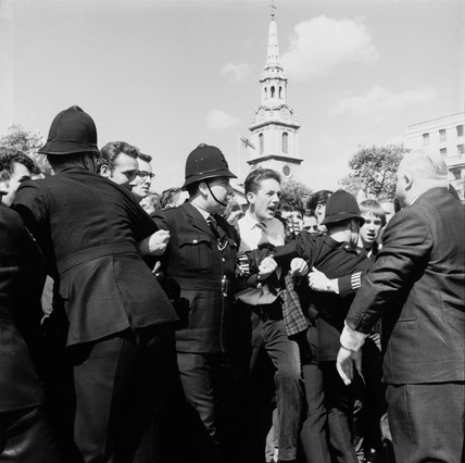 Anti-Union Movement protestors, Trafalgar Square: 1962
