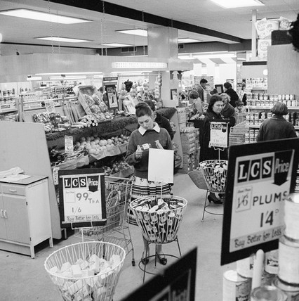LCS supermarket, Highgate: 1963
