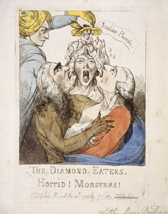The Diamond Eaters, Horrid! Monsters!: 1788