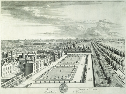 St James's House Le Palais Royal de St James: 18th century