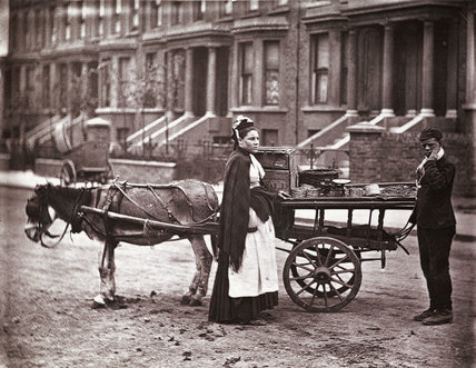 The Street Fruit Trade: c.1877