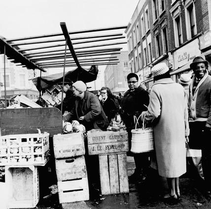 Market scene: 20th century