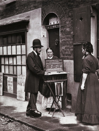Street Doctor: c.1877