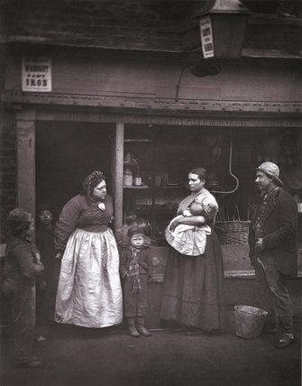 Street Floods in Lambeth: c.1877