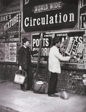 Street Advertising: c.1877