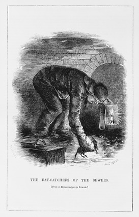 The Rat-Catchers of the Sewers:1861