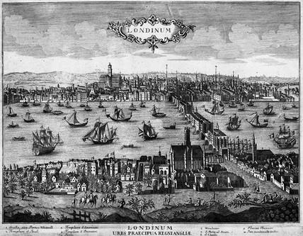 Londinum [sic] - Urbs Praecipua Regni Angliae: 18th century