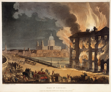 Fire in London: 1808