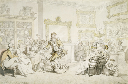 Rout at the Dowager Duchess of Portland: 1811