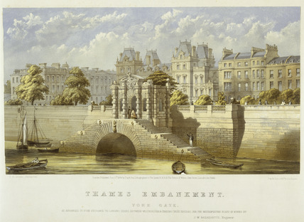 Thames Embankment, York Gate: 1864