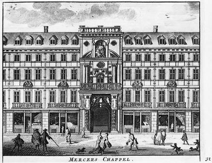 Mercers Chappel: 1695