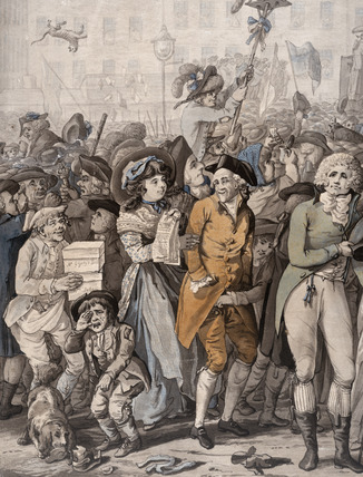 Detail of 'The Westminster Election': 1788
