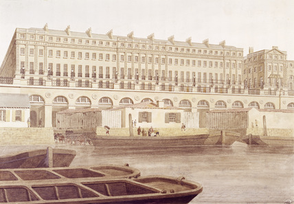 The Adelphi Terrace: 19th century