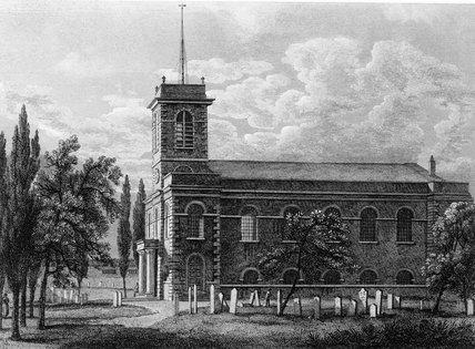 St Matthew, Bethnal Green: 1818