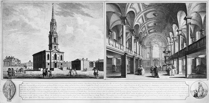St Giles in the Fields: late 18th-early 19th century