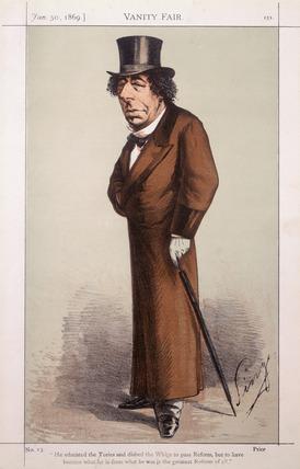Benjamin Disraeli: 1869