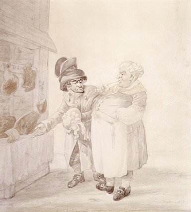 A Jewish clothes trader and a butcher: 1807
