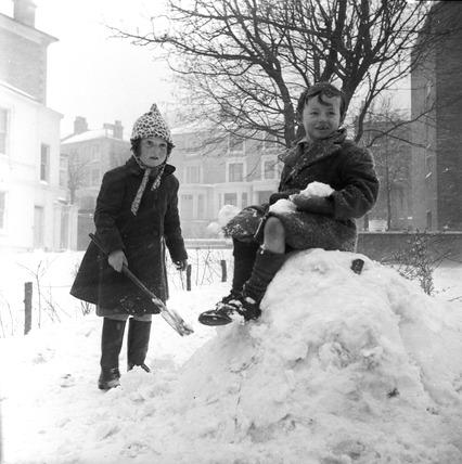 Children in Snow: 20th century