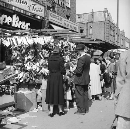Chapel Market: 1955