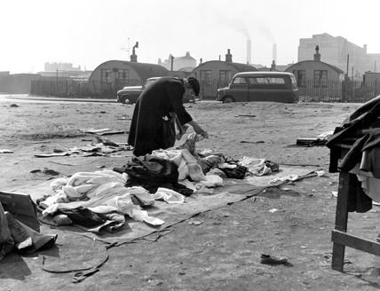 Market Rathbone Street, Newham: 1959