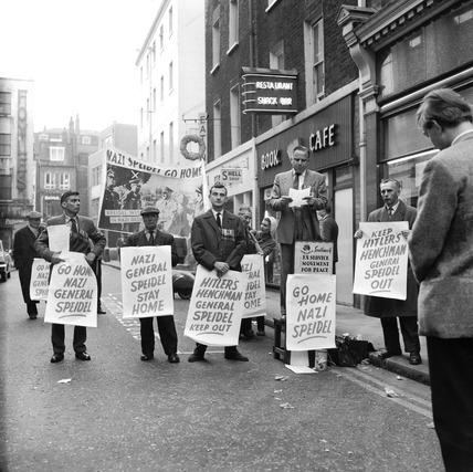 Anti-Nazi protest: 1965-1967