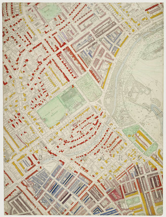 Descriptive map of London Poverty: Section 12: 1889