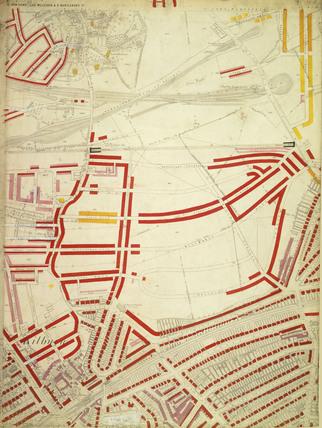 Descriptive map of London Poverty: Section 1: 1889