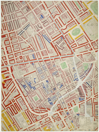 Descriptive map of London Poverty: Section 24: 1889