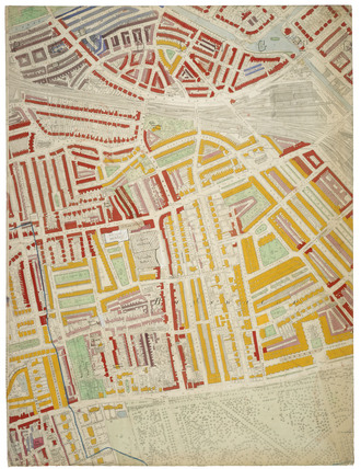 Descriptive map of London Poverty: Section 21: 1889