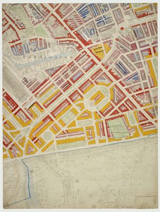 Descriptive map of London Poverty: Section 22: 1889