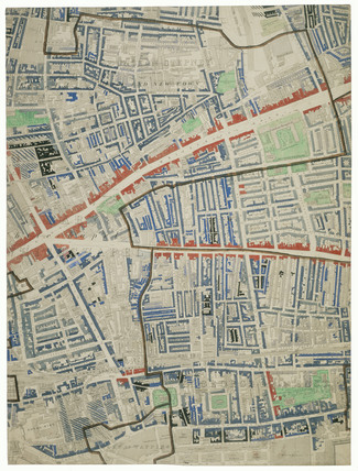 Descriptive map of London Poverty: Section 28: 1889