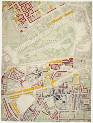 Descriptive map of London Poverty: Section 34: 1889